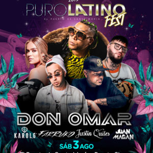 Puro Latino Fest. 2 Upgrade
